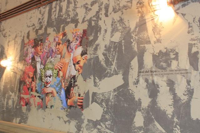 Vopsea decorativa de interior cu efect urban Bronx