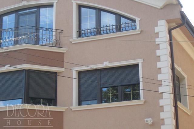 Amenajare cu profile decorative de exterior