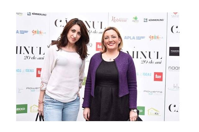 Alina Asăndulesei și Alina Oprea