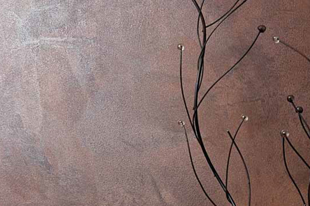 Paleta De Culori Tencuiala Decorativa.Tencuiala Decorativa De Interior Antico Ferro